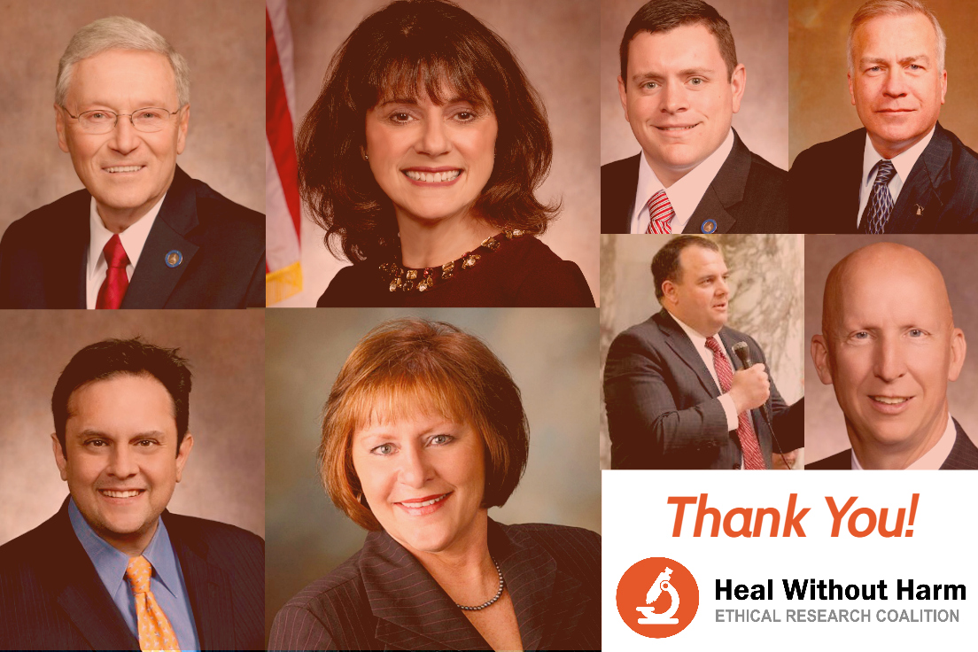 Heal Without Harm Legislative Initiative Introduced